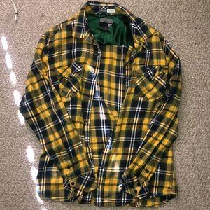 Billabong men's LARGE flannel